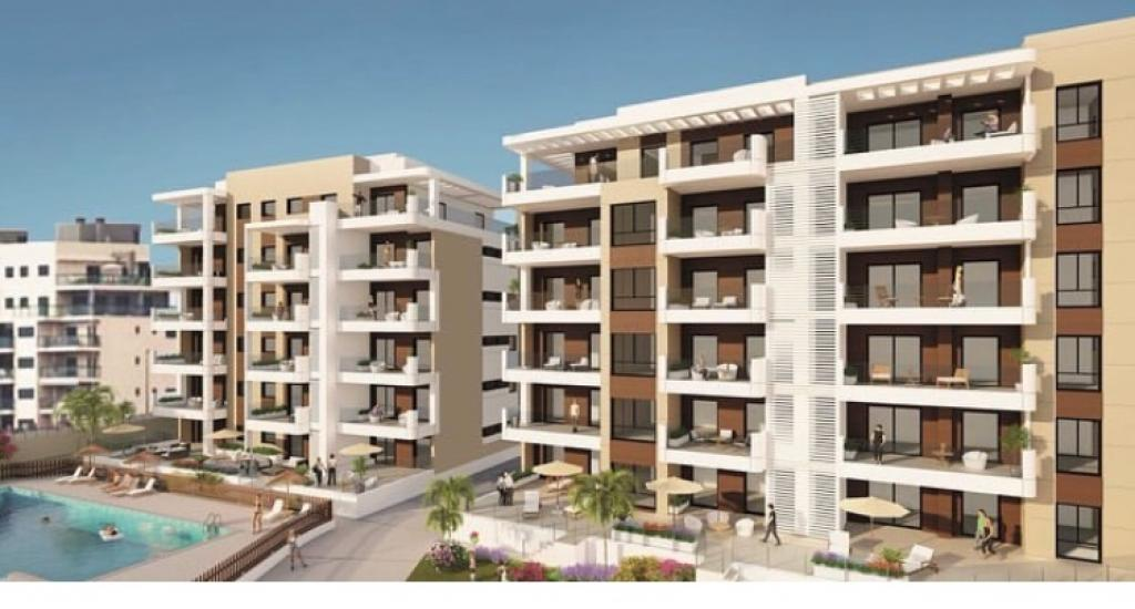 New Build seafront apartments in Mil Palmeras